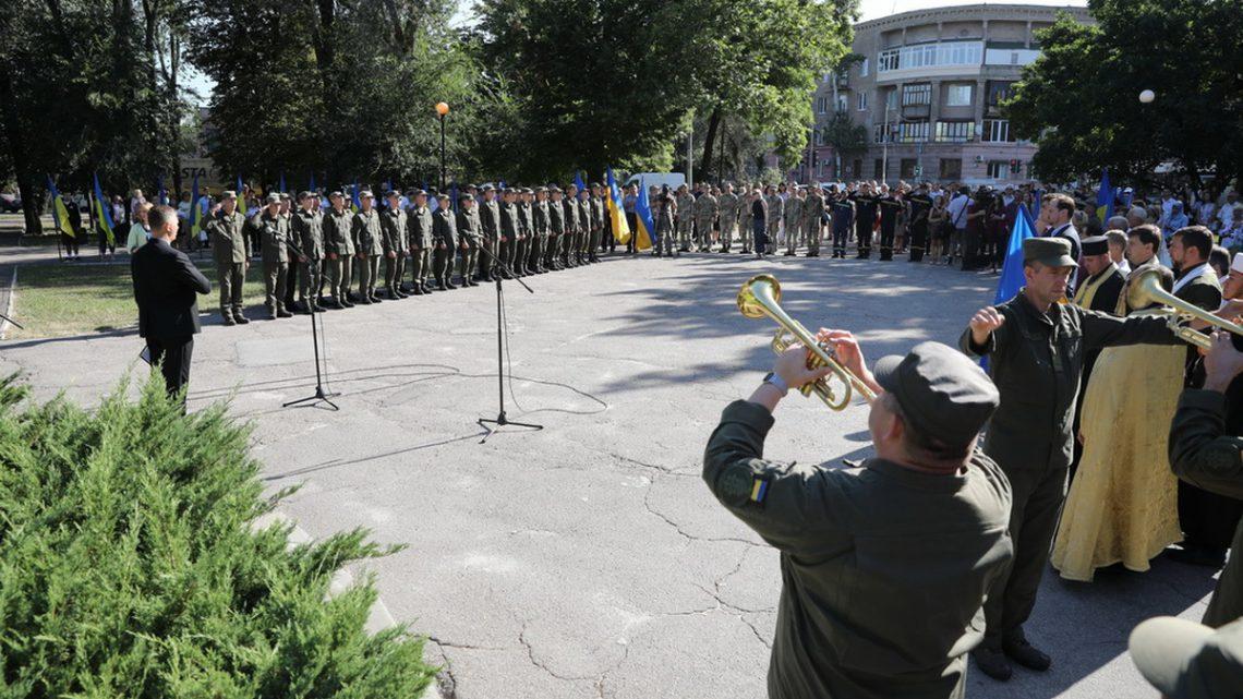 Мітинг до Дня пам'яті захисників України