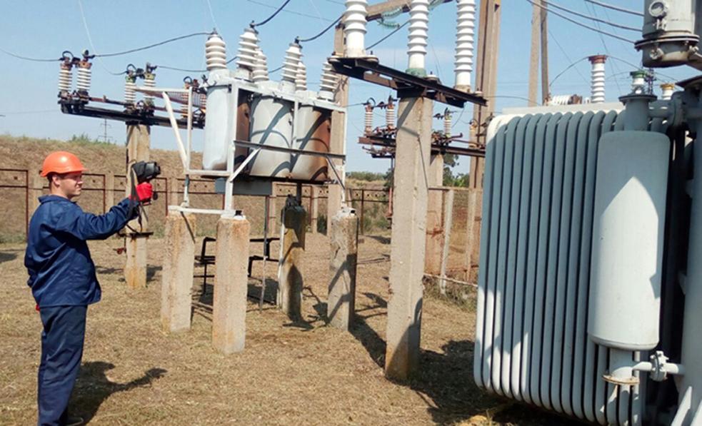 Термографічний моніторинг насосно-силового обладнання