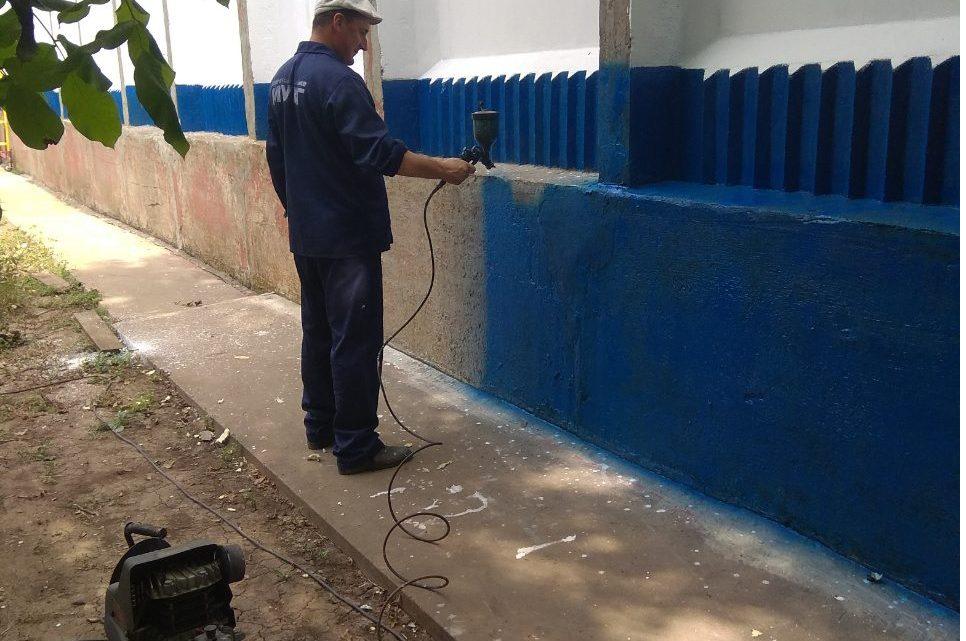Виконання робіт з ремонту виробничих будівель