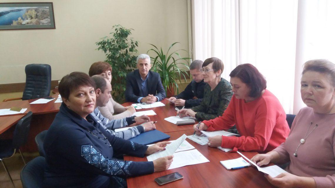 Засідання Міжвідомчої комісії по встановленню режимів роботи водосховищ комплексного призначення у районі басейну річок Приазов'я