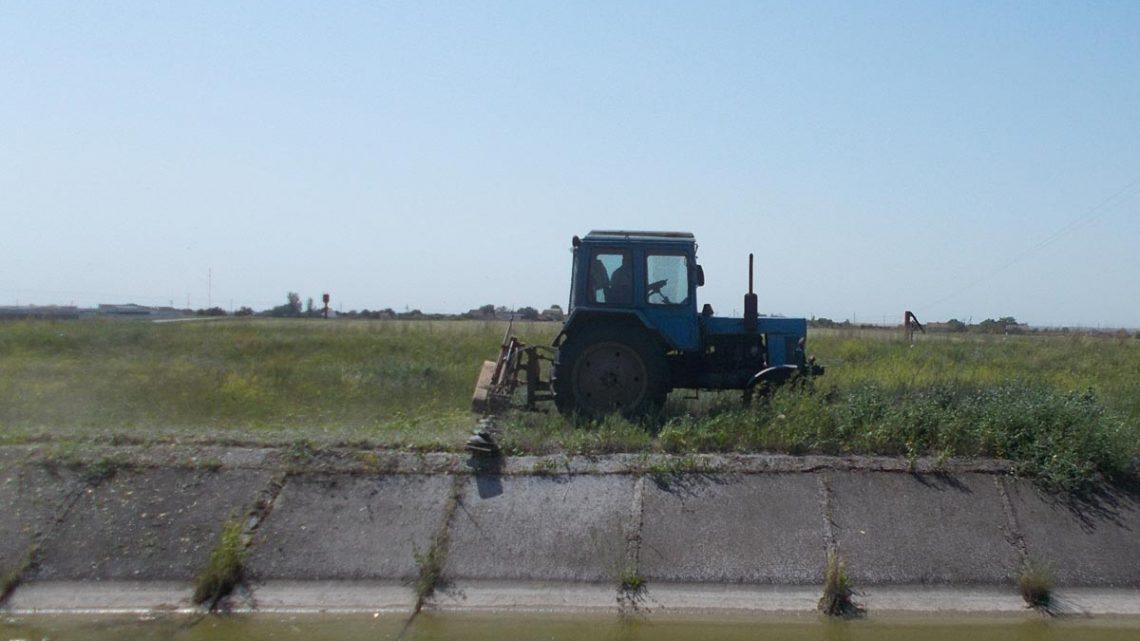 Виконання доглядових робіт на водогосподарських  об'єктах Запорізької області
