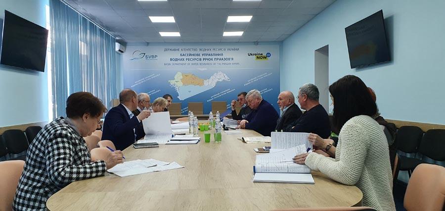 Засідання технічної ради щодо співпраці з ПрАТ «Племзавод «Степной» з питань розширення площ поливу