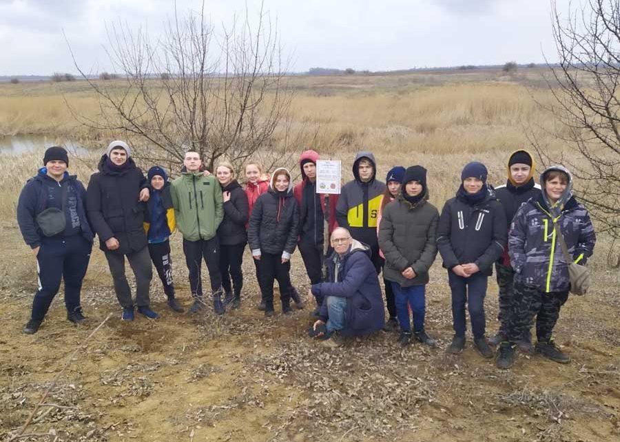 Гідрологічна експедиція учнівської молоді  Приазовською височиною